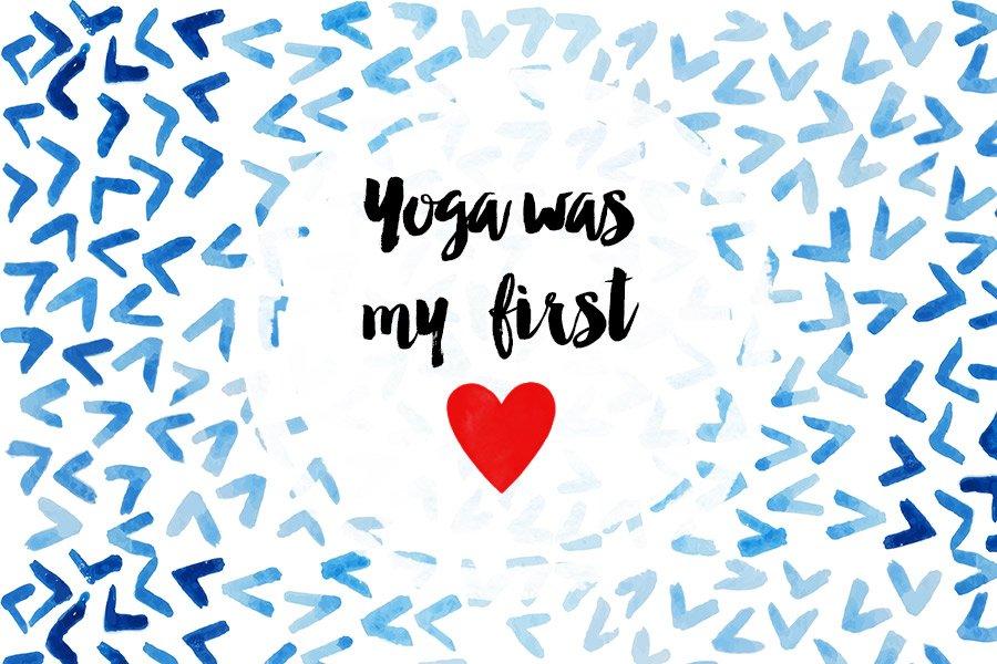 erste Yogastunde