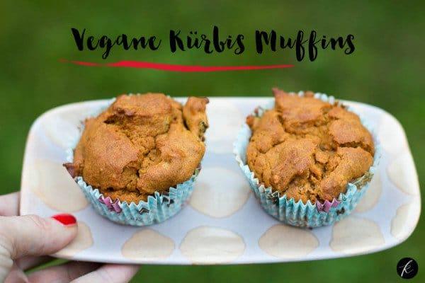 vegane Kürbis Muffins