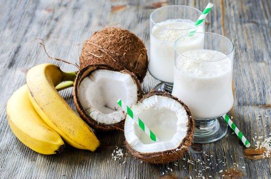Bildergebnis für Bananen kokos smoothie