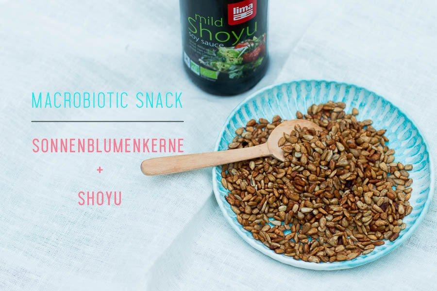 Makrobiotischer Snack