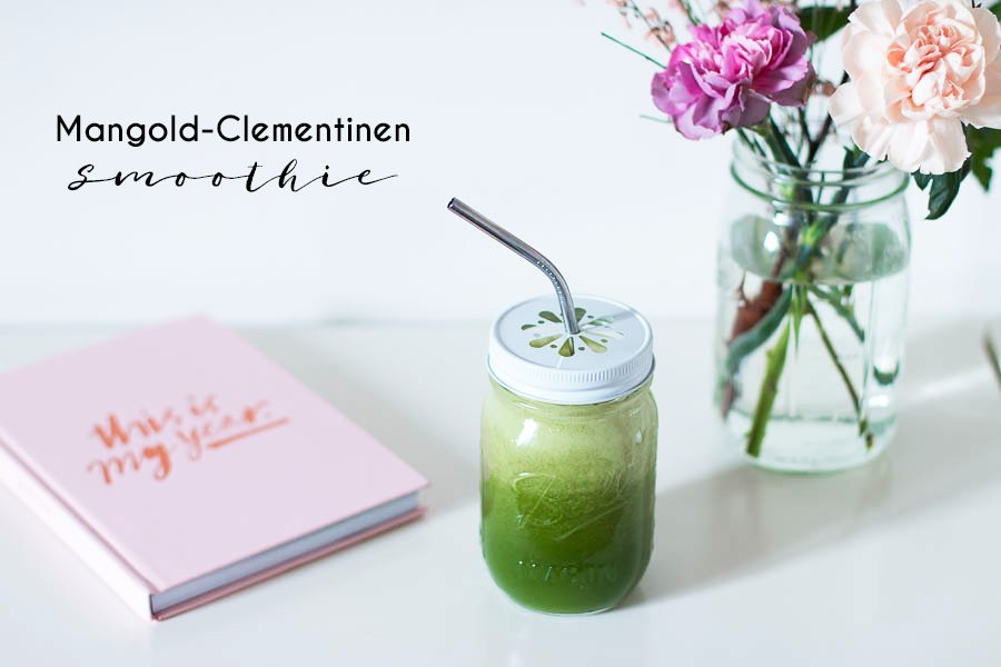 Mangold Clementinen Smoothie