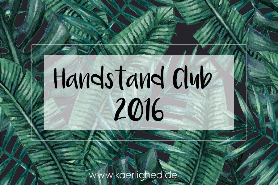 Handstand Club 2016
