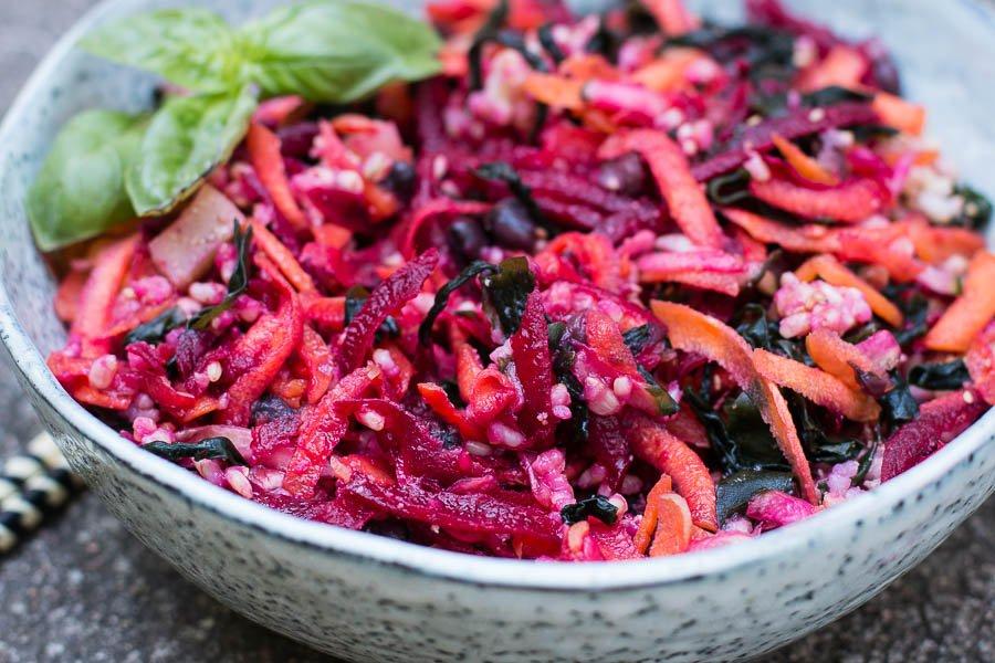 makrobiotischer Sommersalat