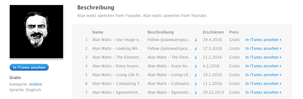 Alan Watts Podcast